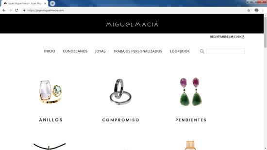 Web Trabajos realizados Miguel Macia